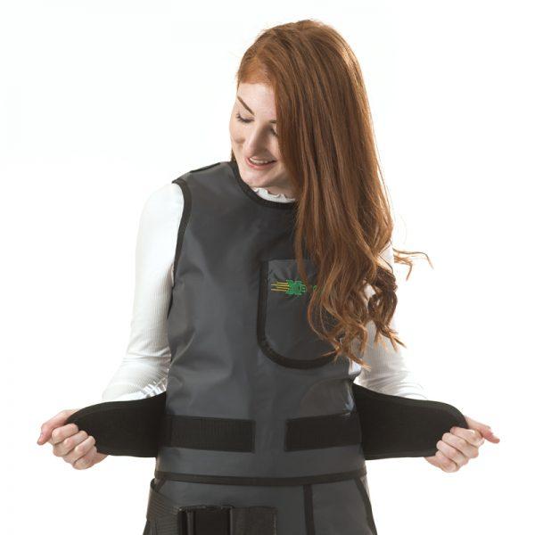 Elastic Back Saver Vest Only DETAIL 182