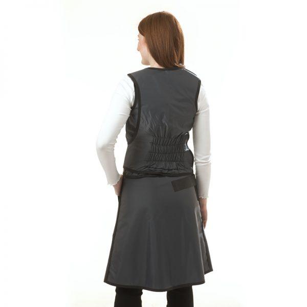 Elastic Back Saver Vest & Skirt BACK 172