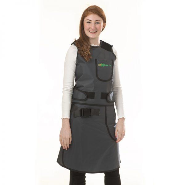 Elastic Back Saver Vest & Skirt FRONT 150