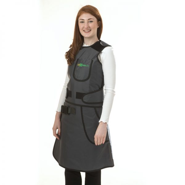 Elastic Back Saver Vest & Skirt SIDE 156