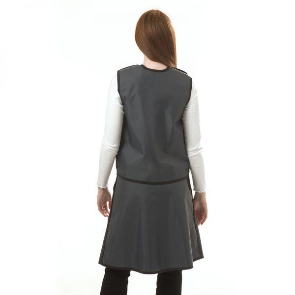 Full Overlap Vest & Skirt BACK 139