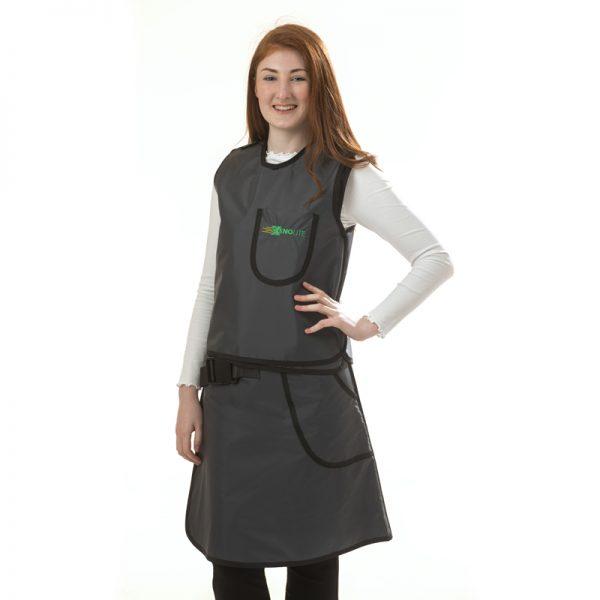 Full Overlap Vest & Skirt FRONT 124