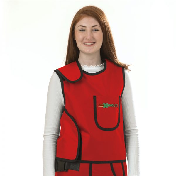 Weight Relief Vest Only FRONT red