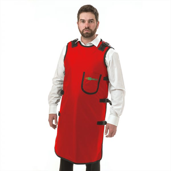 Quick Drop Clips Apron FRONT 296 - Red