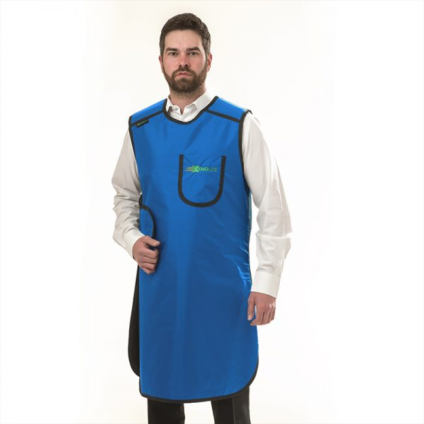 Tabbard Apron FRONT 202 - electric blue